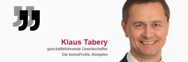 Referenz Klaus Tabery